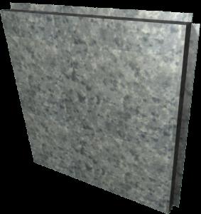 Металлокассета ламинированная под гранит1