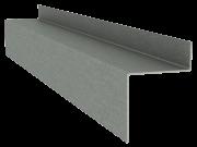 Горизонтальный несущий профиль клинкерного фасада
