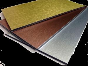 Цветовая палитра композитных панелей