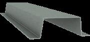 Вертикальный несущий профиль клинкерного фасада